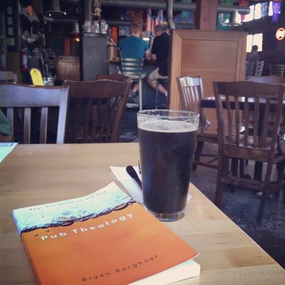With a Perseus Porter at Elysian's Capitol Hill Pub on Pike Street in Seattle