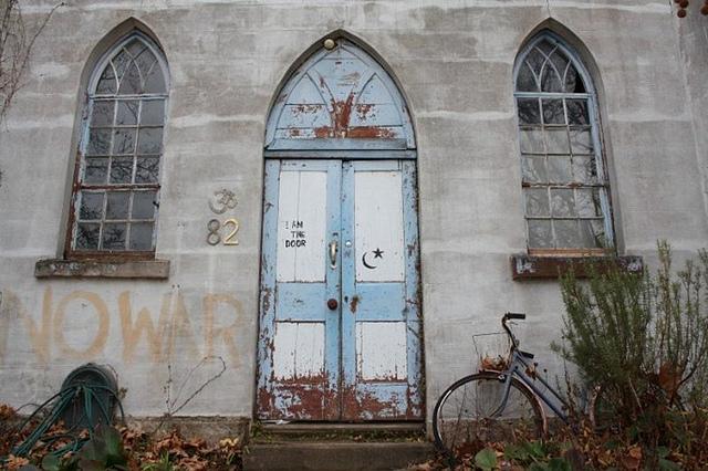 old_church_door
