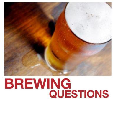 brewing questions