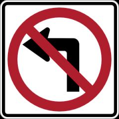 NO_LEFT_TURN_sign