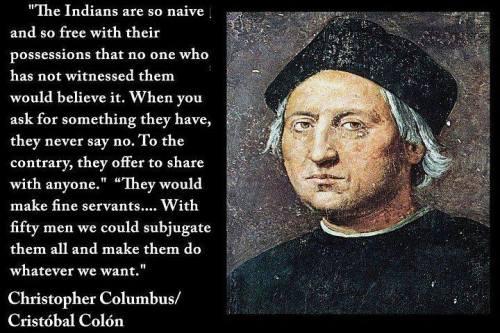 Columbus quote